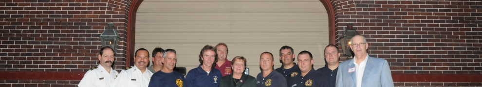 Firemen of Engine 35 Receive City Proclamation