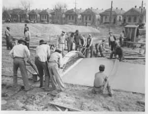 1937 1940 paving moss