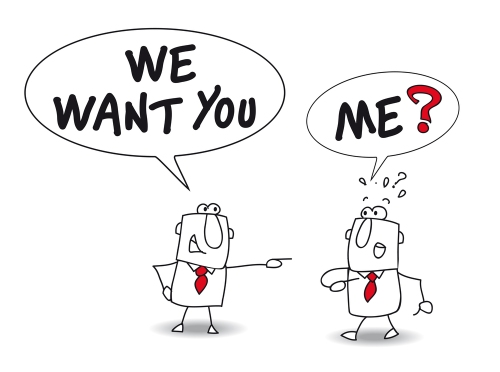 we want you. Joe is a recruiter. He is speaking with John and he